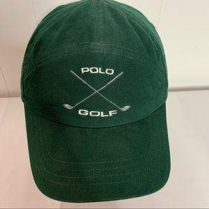 Polo Golf Ralph Lauren Cap Hat Hunter Green